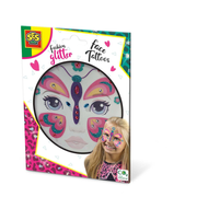 SES Creative Fashion glitter face tattoos - Butterfly