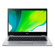 Acer Spin 3 SP314-54N-72W6 LPDDR4-SDRAM Hybrid (2-in-1) 35,6 cm (14 Zoll) 1920 x 1080 Pixel Touchscreen Intel® Core™ i7 Prozessoren der 10. Generation 16 GB 1000 GB SSD Wi-Fi 6 (802.11ax) Windows 10 Home Silber