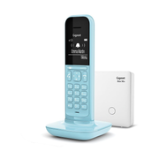 Gigaset CL390A Analog/DECT telephone Blue