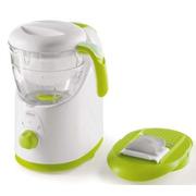 Chicco Easy Meal steam cooker 1 basket(s) Freestanding 500 W Green, White