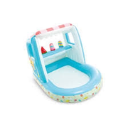 Intex Ice Cream Stand Play House Inflatable pool Square Multicolour