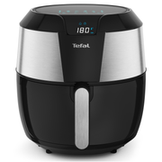 Tefal Easy Fry EY701 Single 5.6 L Stand-alone 1700 W Hot air fryer Black, Stainless steel