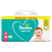 Pampers Baby-Dry Size 4, 108Nappies, Up To 12h Protection, 9-14kg