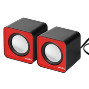 Audiocore AC870 R 2-way Grey, Red Wired 3 W