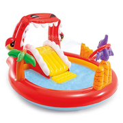 Intex Happy Dino Play Center Inflatable pool Round 150 L Multicolour
