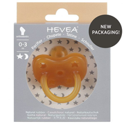 HEVEA 4001 baby pacifier Pacifier cloth Orthodontic Rubber Beige