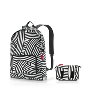 Reisenthel mini maxi rucksack backpack Black, White Polyester