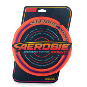 Aerobie Sprint Ring Outdoor Flying Disc - 10 Inches - Orange