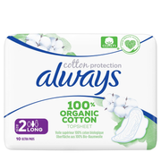 Always Ultra Cotton Protection Incontinence pad Woman
