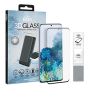 EIGER 3D CF SP Glass Samsung S20 Clear/Black