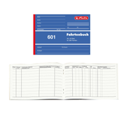Herlitz 840645 administration book Blue, White A6 40 sheets