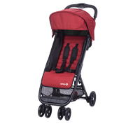 Safety 1st TEENY Jogging stroller 1 seat(s) Black, Red