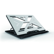 "Conceptronic THANA ERGO S, Laptop Cooling Stand 39.6 cm (15.6"") Notebook stand Grey"