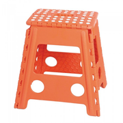 M&B Collection KK-703OR outdoor stool Square Orange Plastic