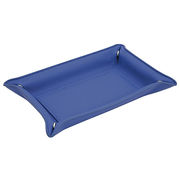 Wedo 750 25003 desk tray/organizer Faux leather Blue