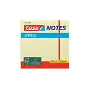 TESA 57654 self-adhesive note paper Square Yellow