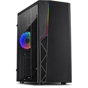 Inter-Tech B-02 RGB Tower Black