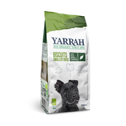 Yarrah Organic vega dog biscuits for smaller dogs