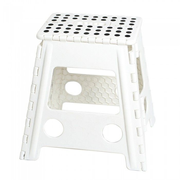 M&B Collection KK-703WH outdoor stool Square White Plastic