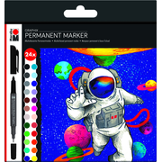 Marabu Graphix permanent marker Multicolour 24 pc(s)