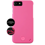 "HoldIt Connect Fluorescent mobile phone case 11.9 cm (4.7"") Cover Pink"