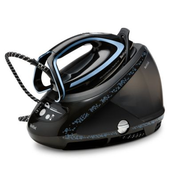Tefal Pro Express Ultimate [+] GV9611 steam ironing station 2600 W 1.9 L Durilium AirGlide Autoclean soleplate Black, Blue