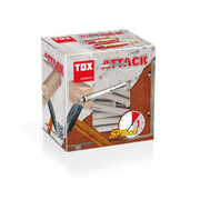 TOX Attack 50 pc(s) Screw & wall plug kit 12 cm