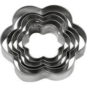 Creativ Company 782880 cookie cutter Metallic