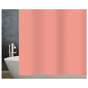 Diaqua Basic shower curtain Ring Polyester Coral