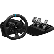 Logitech G G923 Black USB Steering wheel + Pedals PC, PlayStation 4