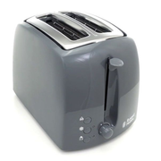 Russell Hobbs 21644-56 toaster 2 slice(s) 850 W Grey, Stainless steel