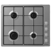 Candy CHW6LX Stainless steel Built-in 60 cm Gas 4 zone(s)