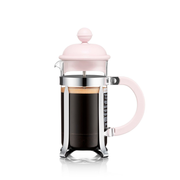 Bodum Caffettiera French Press 0.35 L Pink, Stainless steel