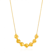 Ania Haie N017-04G necklace Female Gold 3.5 g