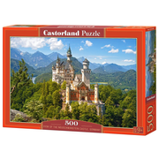 Castorland View of the Neuschwanstein Castle, Germany 500 pcs Jigsaw puzzle 500 pc(s)