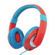 Trust 23585 headphones/headset Head-band 3.5 mm connector Blue, Red
