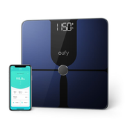 Anker T9147011, Electronic personal scale, kg/lb, Rectangle, Black, Tempered glass, Touch