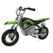 Razor Dirt Rocket SX350 McGrath electric scooter 1 seat(s) 22 km/h Black, Green, Grey, White