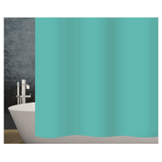 Diaqua Basic shower curtain Ring Polyester Turquoise