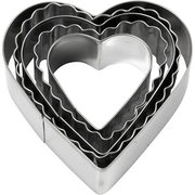 Creativ Company 782883 cookie cutter Metallic