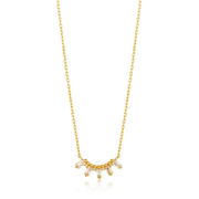 Ania Haie N018-03G necklace Female Gold 2.1 g