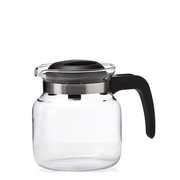 Montana 057866 teapot Single teapot 1000 ml Black, Transparent