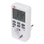 Brennenstuhl 1506320 electrical timer White Weekly timer