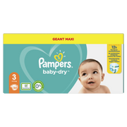 Pampers Baby-Dry 81728667 disposable diaper Boy/Girl 3 104 pc(s)