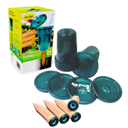 """Bio Green RAISED BED WATERING SYSTEM """"HYDRO CUP"""" - 4 WATERING STAKES + 4 CUPS"""