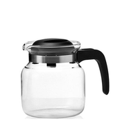 Montana 057864 teapot Single teapot 1.25 ml Black, Transparent