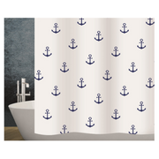Diaqua Anchor shower curtain Ring Polyester Blue, White