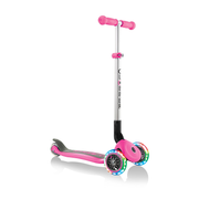 Globber Primo Foldable Lights Kids Classic scooter Pink