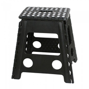 M&B Collection KK-703BK outdoor stool Square Black Plastic