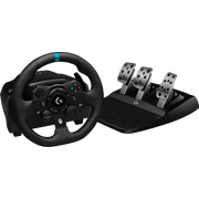 Logitech G G923 Black USB Steering wheel + Pedals PC, Xbox 360
